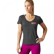 Reebok CrossFit Damen Graphic T-Shirt Read black L