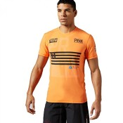 Reebok Herren T-Shirt CrossFit Burnout Tee elepea L