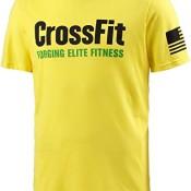 Herren Printshirt gelb L