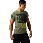 Reebok Herren T-Shirt CrossFit Blend T v1 cangre L