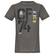 Reebok CrossFit Tri-Blend Graphic T-Shirt XXL Black